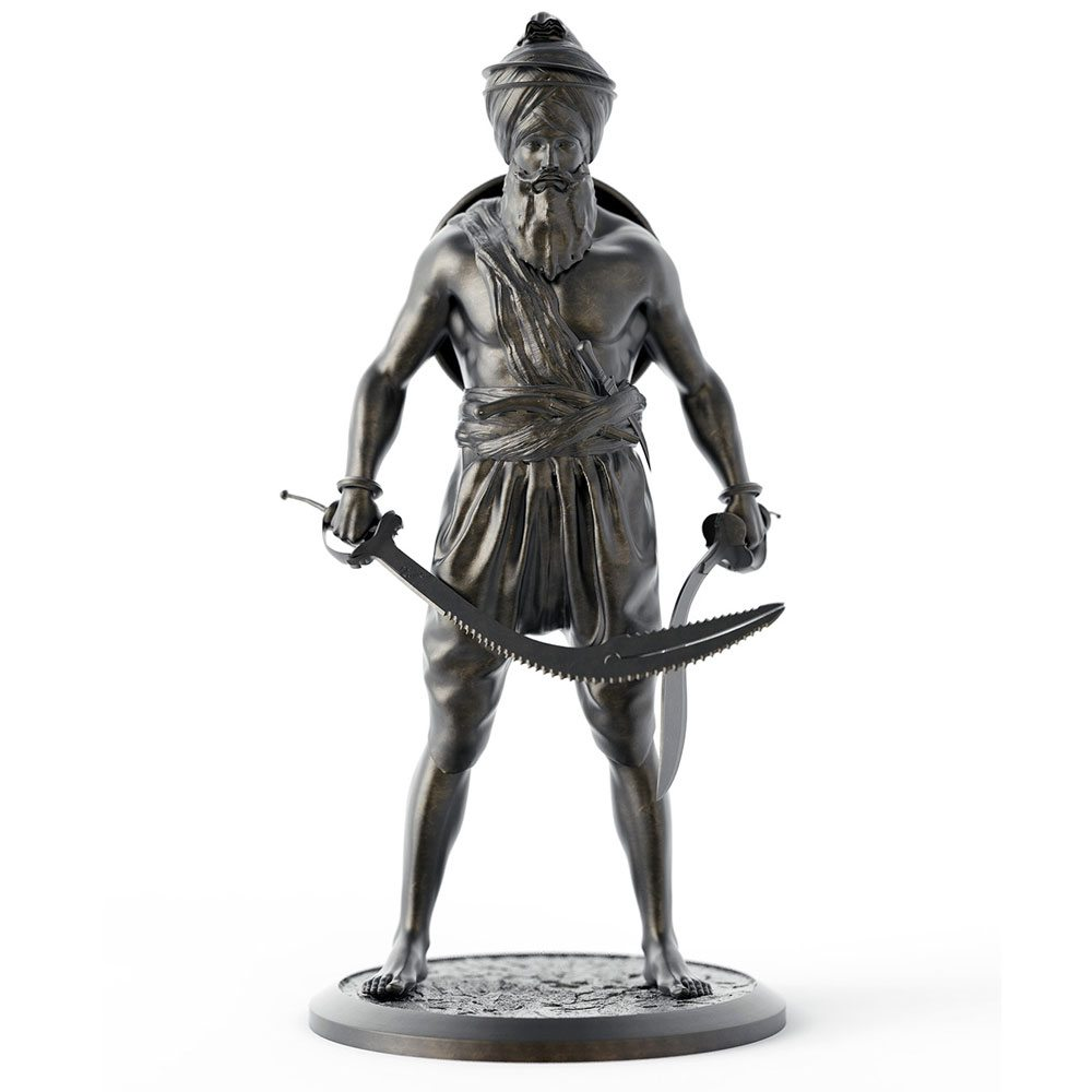 Sikh Warrior Statue - Garja Singh