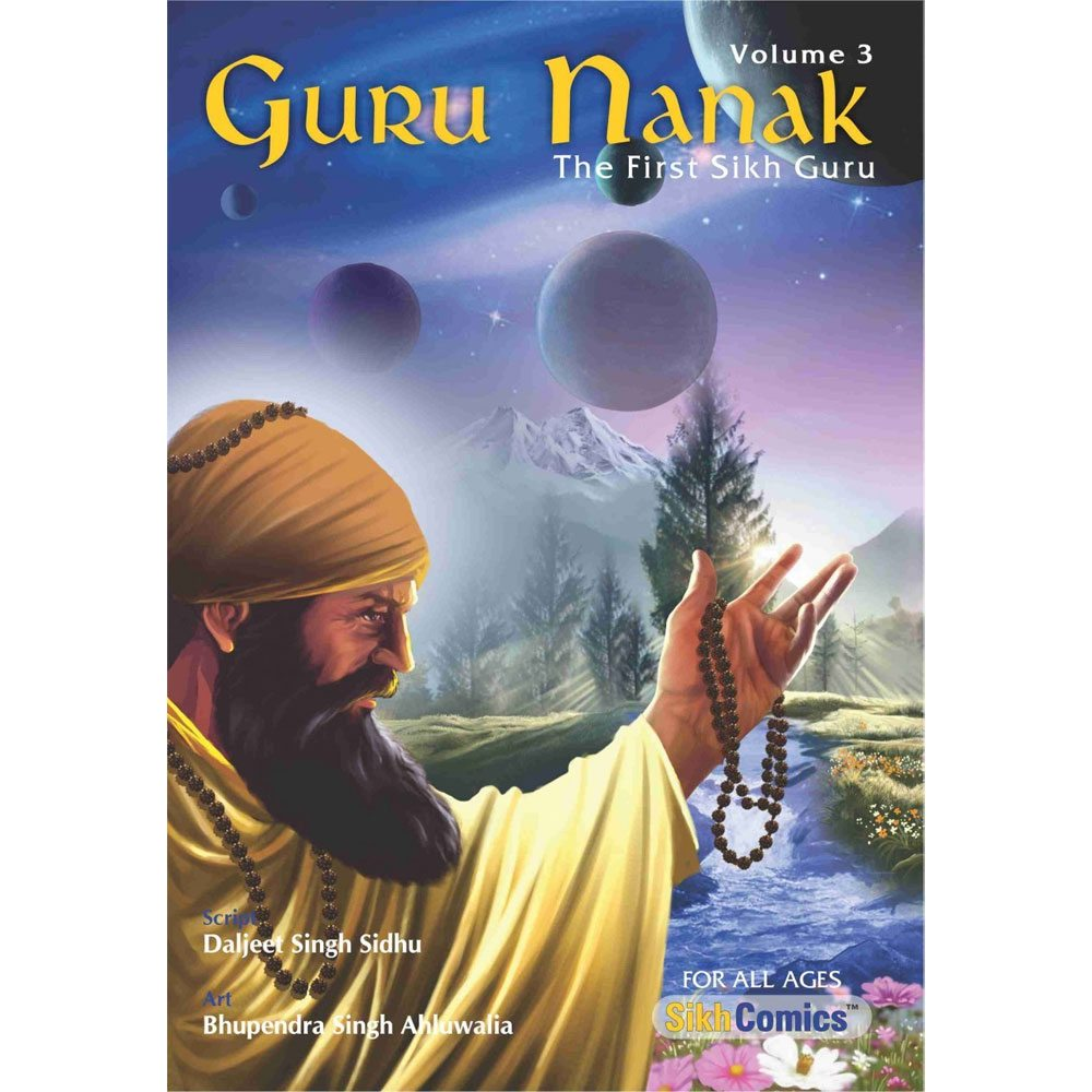 guru nanak dev jee graphic novel volume 3 sikhistore. Black Bedroom Furniture Sets. Home Design Ideas