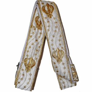 Decorative Gold Khanda Gatra